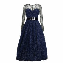 MATSOUR'I - Cocktail Dress Sylke Blue