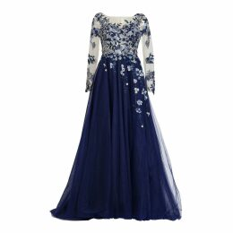 MATSOUR'I - Haute Couture Gown Charleen Blue