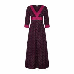 At Last. - Mayfair Dress Pink & Black