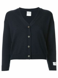 We11done classic cardigan - Blue