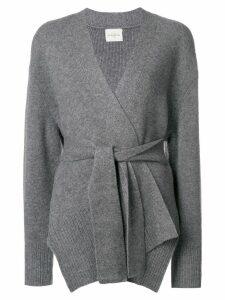 Le Kasha Oxford cardigan - Grey