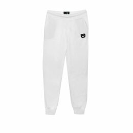 At Last. - Cashmere and Wool Jumper Navy with Pink Star