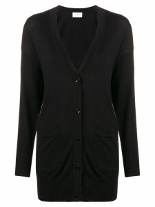 Snobby Sheep long buttoned cardigan - Black
