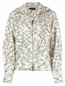 Isabel Marant bomber styled cardigan - White