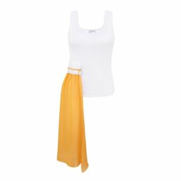 Klements - Square Scarf In Gothic Floral Ochre Print