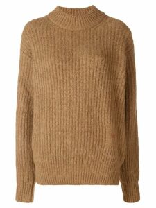Victoria Beckham chunky knit sweater - Brown