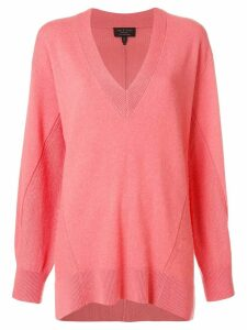 Rag & Bone V-neck jumper - Pink