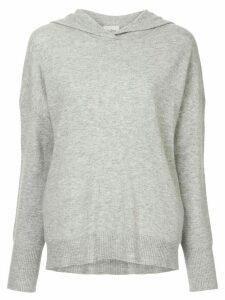 Le Kasha cashmere hoodie - Grey