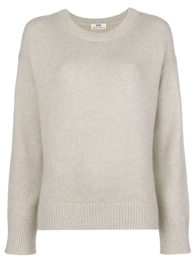 Sminfinity loose knit sweater - Neutrals