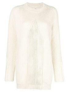 Maison Margiela ribbed knit sweater - Neutrals