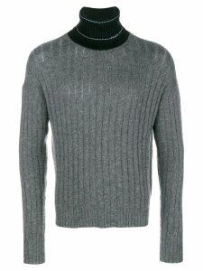 Prada roll neck sweater - Grey