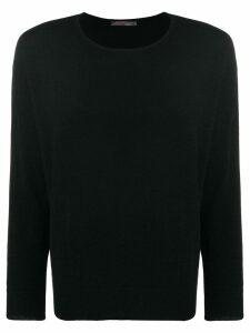 Incentive! Cashmere cashmere crew neck sweater - Black