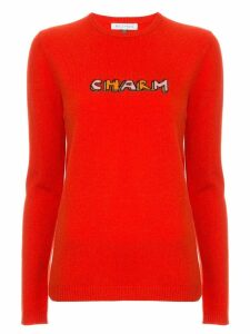 Bella Freud Charm print sweater - Red