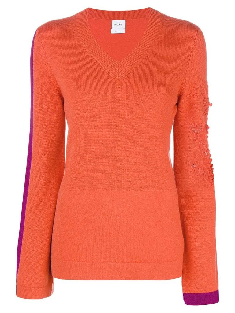 Barrie New Romantic cashmere V-neck pullover - Yellow