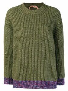 Nº21 chunky knit jumper - Green