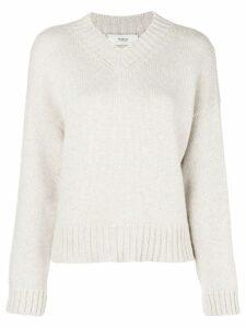 Pringle Of Scotland loose V-neck sweater - Neutrals