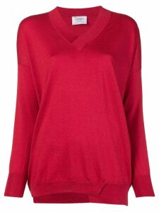 Snobby Sheep V-neck jumper - Red