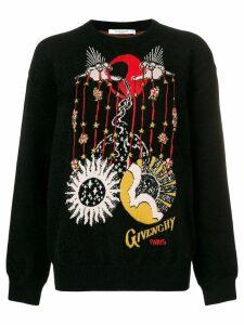 Givenchy Libra intarsia knit sweater - Black