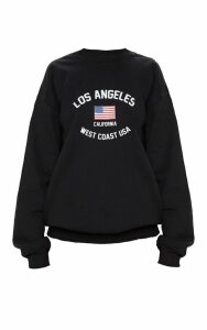 Black Los Angeles Sweater, Black