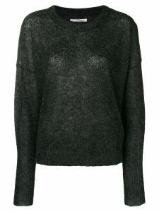 Isabel Marant Étoile boxy fine-knit sweater - Black