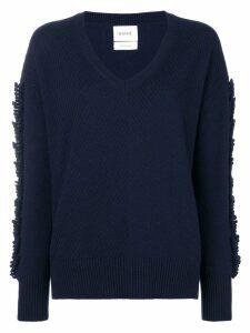 Barrie Troisieme Dimension cashmere V-neck pullover - Blue