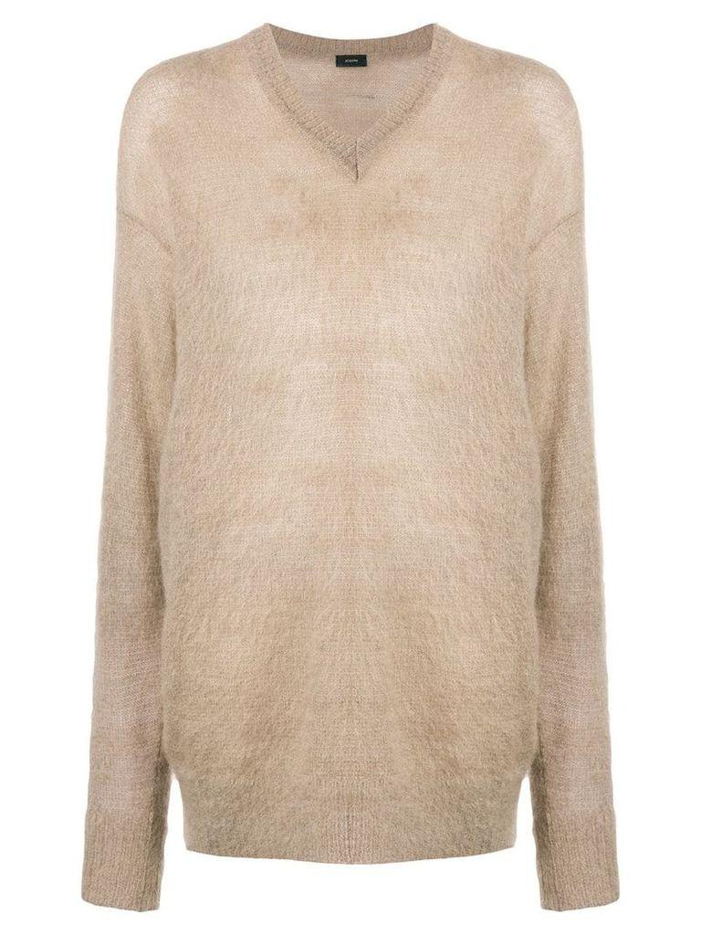 Joseph oversized knit jumper - Neutrals