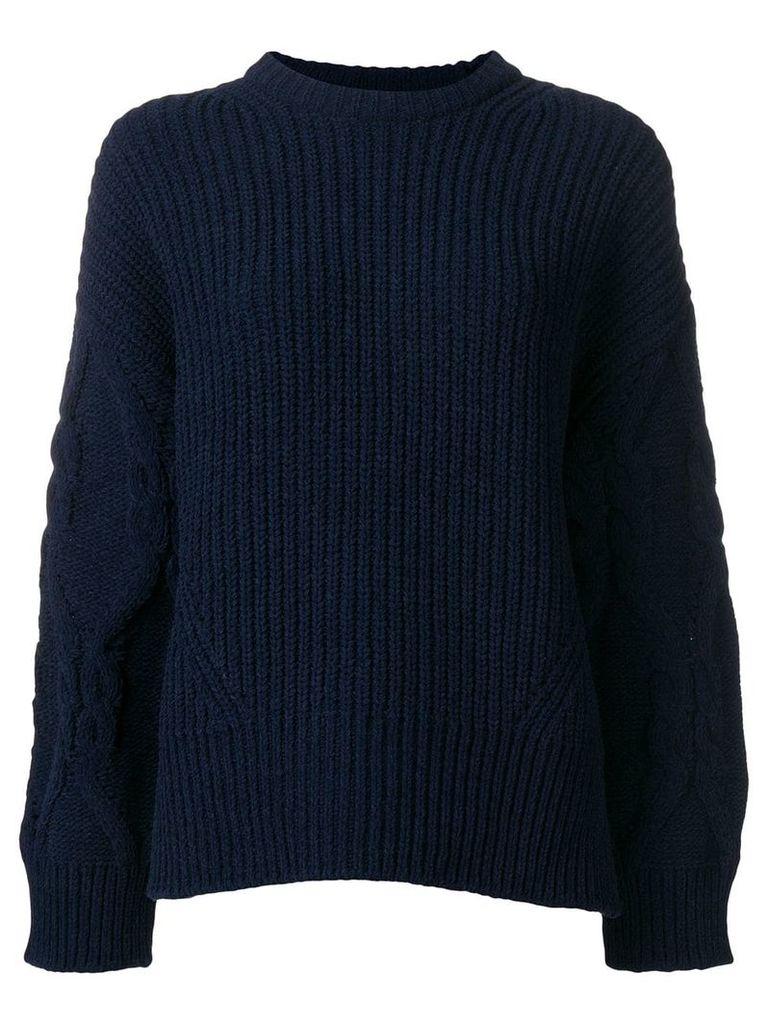 Juun.J oversized knit jumper - Blue