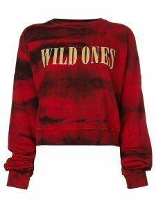Amiri printed sweatshirt - Red
