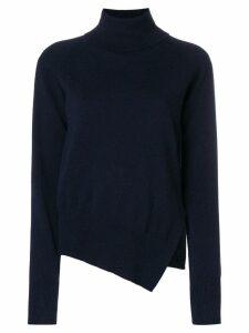 Zanone side slit jumper - Blue