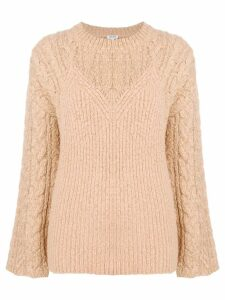 Kenzo Illusion sweater - Neutrals