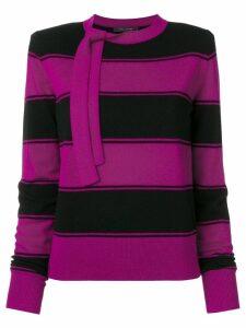 Marc Jacobs striped knit jumper - Pink