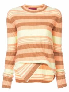 Sies Marjan asymmetric striped sweater - Multicolour