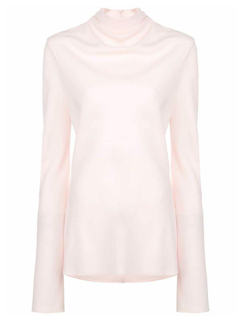 Ellery turtleneck sweater - Neutrals