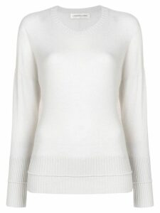 Lamberto Losani round neck sweater - Neutrals