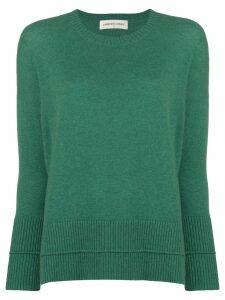 Lamberto Losani round neck sweater - Green