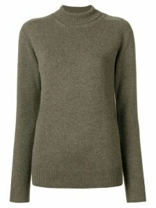 Victoria Beckham roll-neck fitted sweater - Green