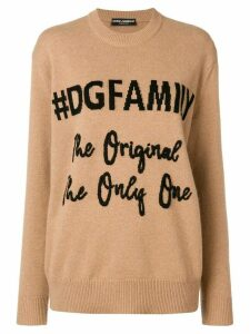 Dolce & Gabbana cashmere jumper - Neutrals