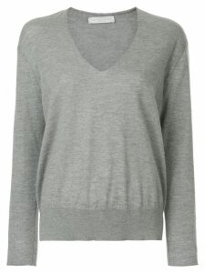 Fabiana Filippi v-neck jumper - Grey