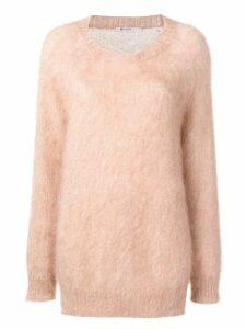 T By Alexander Wang crew neck sweater - Neutrals
