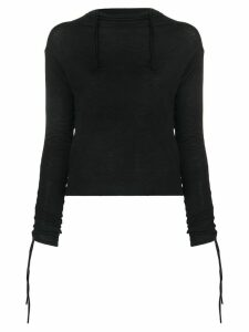 Andrea Ya'aqov turtle neck T-shirt - Black