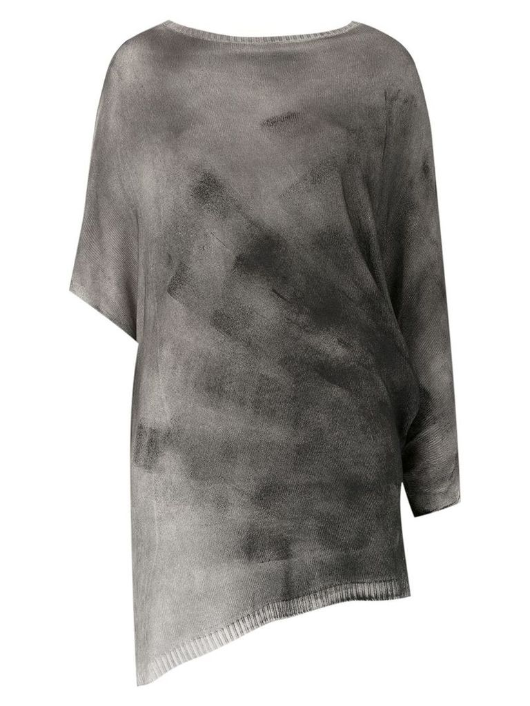Uma Raquel Davidowicz knitted top - Grey