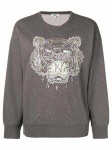 Kenzo embellished Tiger sweatshirt - Grey