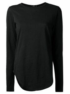 Bassike long sleeve T-shirt - Black