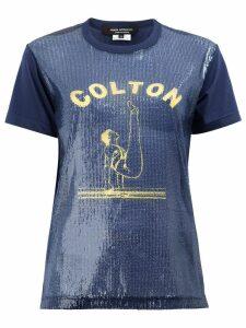 Junya Watanabe Colton T-shirt - Blue