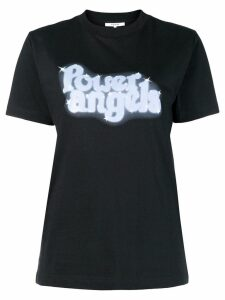 Ganni Power Angels T-shirt - Black
