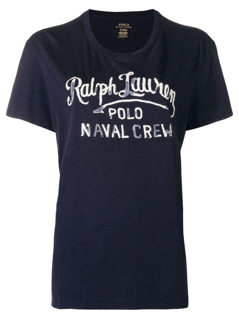 Polo Ralph Lauren print T-shirt - Blue