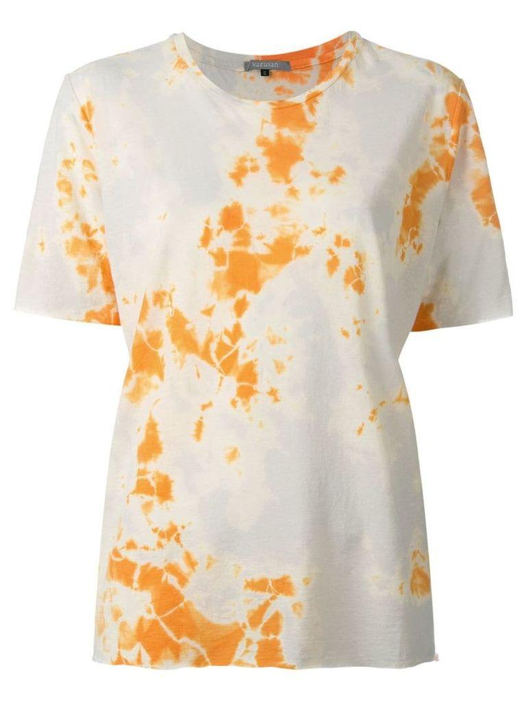 Suzusan printed T-shirt - Neutrals