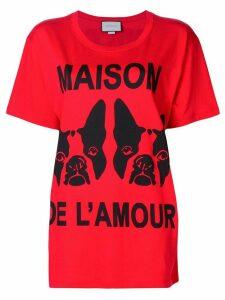 Gucci Maison de l'Amour T-shirt - Red