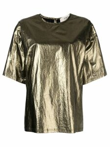 Ports 1961 short sleeve oversized T-shirt - Metallic