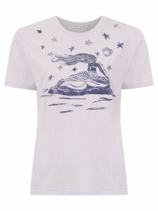 Martha Medeiros printed t-shirt - Pink